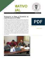 Informativo Semanal Marzo 2015
