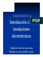 1. Introducción a Las Instalaciones Electrotécnicas