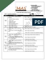 Teaching Schedule 1-6 Sr
