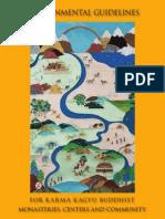 38767420 Karmapas Environmental Guidelines 2009