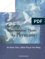 Group Representation Theory for Physicists (Jin-Quan Chen)