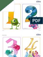 Disney Numbers Sf Printables 0612 FDCOM