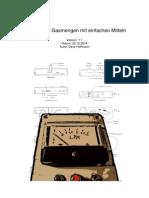 Gasmengenmessung Mit Durchströmsensor FLW-122