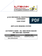 Jj 615 Mechanical Maintenance and Component (Case Study Abs)