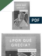 Por Que Grecia Jacqueline de Romilly