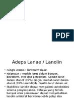 monografi adeps vaselin