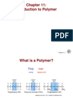 Chapter 11 Introduction to Polymer
