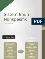 Sistem Imun Nonspesifik