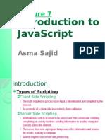 JavaScript script tutorial for biggners