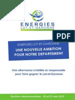 Programme Energies Lot-et-Garonne