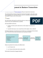 Status Management in Business Transactions.docx