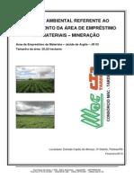 relatório de controle ambiental e plano de controle ambiental