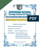 Informe Procesamiento de Minerales Tamizado UNASAM