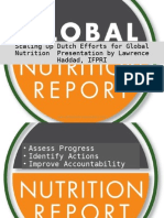 Netherlands Global Nutrition Report Roundtable