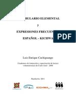 Vocabulario Kichwa y Expresiones Comunes