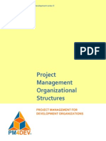 PM4DEV Project Management Structures