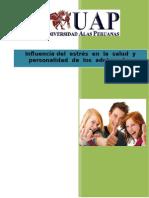 Influencia Del Estrés en La Salud y Personalidad de Los Adolecentes
