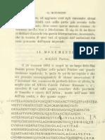 Estratto dal Bullettino dell'Istituto di corrispondenza archeologica per l'anno 1884