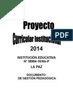PCI 2014 DE LA PAZ