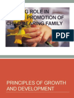 Nursing Role in Health Promotion of Child Bearing (2) (1)