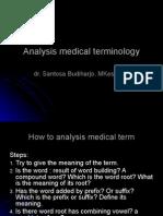 Analysis of Medical Terminology