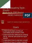 UsingCascadingStyleSheets CssBasics