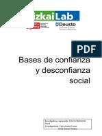 Bases de Confianza y Desconfianza Social