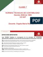 Clase 7 Normas TeÌ-cnicas vs NIIF