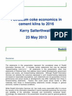 Petroleum Coke - Economics in Cement Kilns