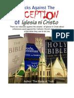 Blocks Against the Deception of Iglesia Ni Cristo