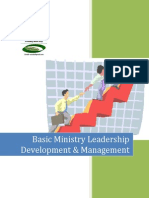 Basics of Church Leadership Management Part 1