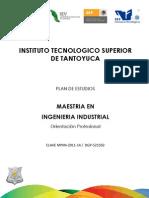 Maestria en Ingenieria Industrial