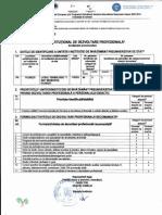 Plan Institutional de Dezvoltare Profesionala
