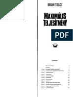 MAXIMALIS TELJESITMENY