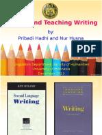 Writing and Teaching Writing
