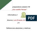 Referencias Absolutas y Relativas