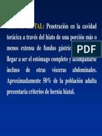 Hernia de Hiato, Divertículos, Membranas