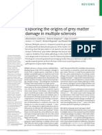 Grey Matter Damage in Multiple Sclerosis
