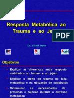 Resposta Metabolica Ao Trauma e Ao Jejum