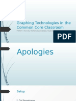 Graphing Technologies in the Common Core