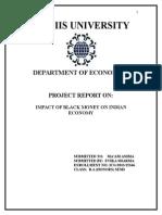 Impact of Black-Money