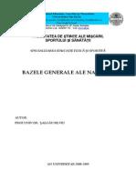 Bazele Generale Ale Natatiei