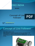 Concept and Algorithm of Line Follower