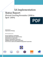 14th Status Report on EPIRA Implementation