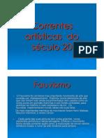 (Microsoft Power Point - Correntes Artisticas