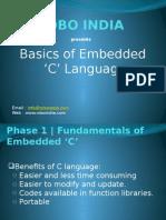 Basics of Embedded C Languagae