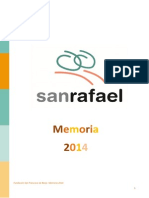 Centro San Rafael Memoria General 2014