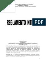 Reglamento Interno 2006 Iupsm
