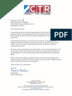 David Brock Letter Trey Gowdy