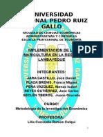 Proyecto - Implementación de La Maricultura